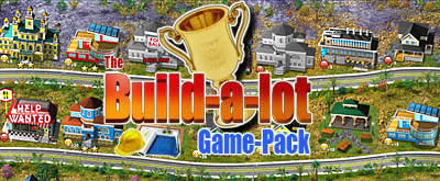 The Build-a-lot Game-Pack: Now 4-in-1 At Once