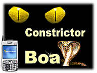 Boa Constrictor for Palm OS