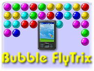 Bubble FlyTrix for Palm OS