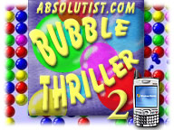 Bubble Thriller 2 for Palm